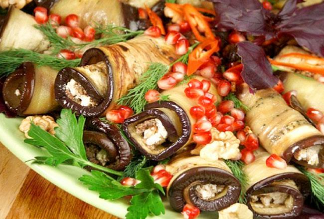 Баклажаны на праздничный стол рецепты с фото
